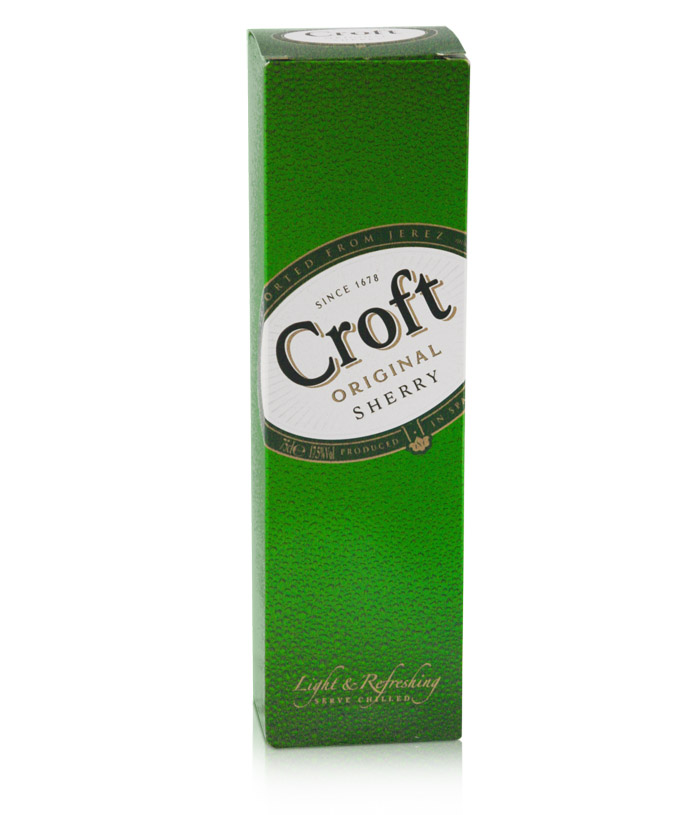 Croft Sherry Packaging