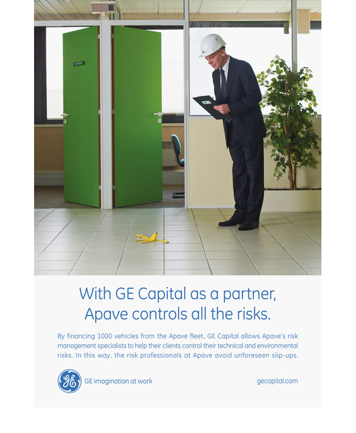 GE Capital press campaign