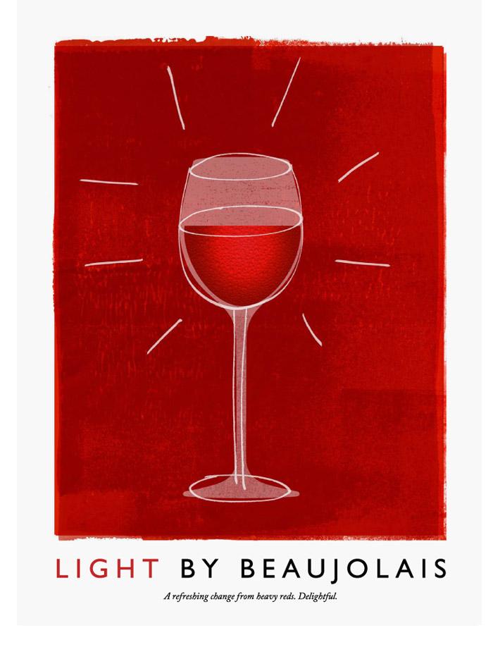 Beaujolais ads