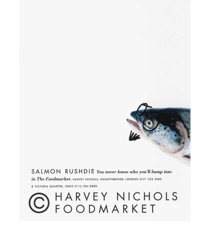 Harvey Nichols Foodmarket ads