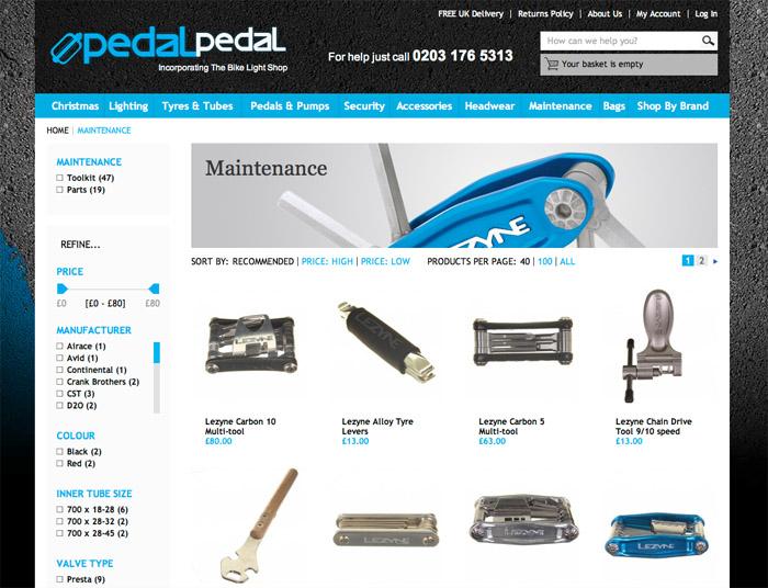 pedal-pedal website