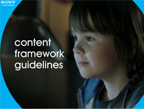 Sony Content Guidelines